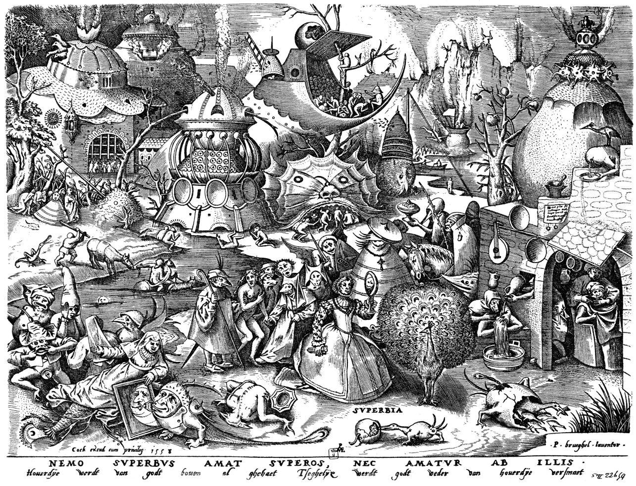 Brueghel_-_Sieben_Laster_-_Superbia