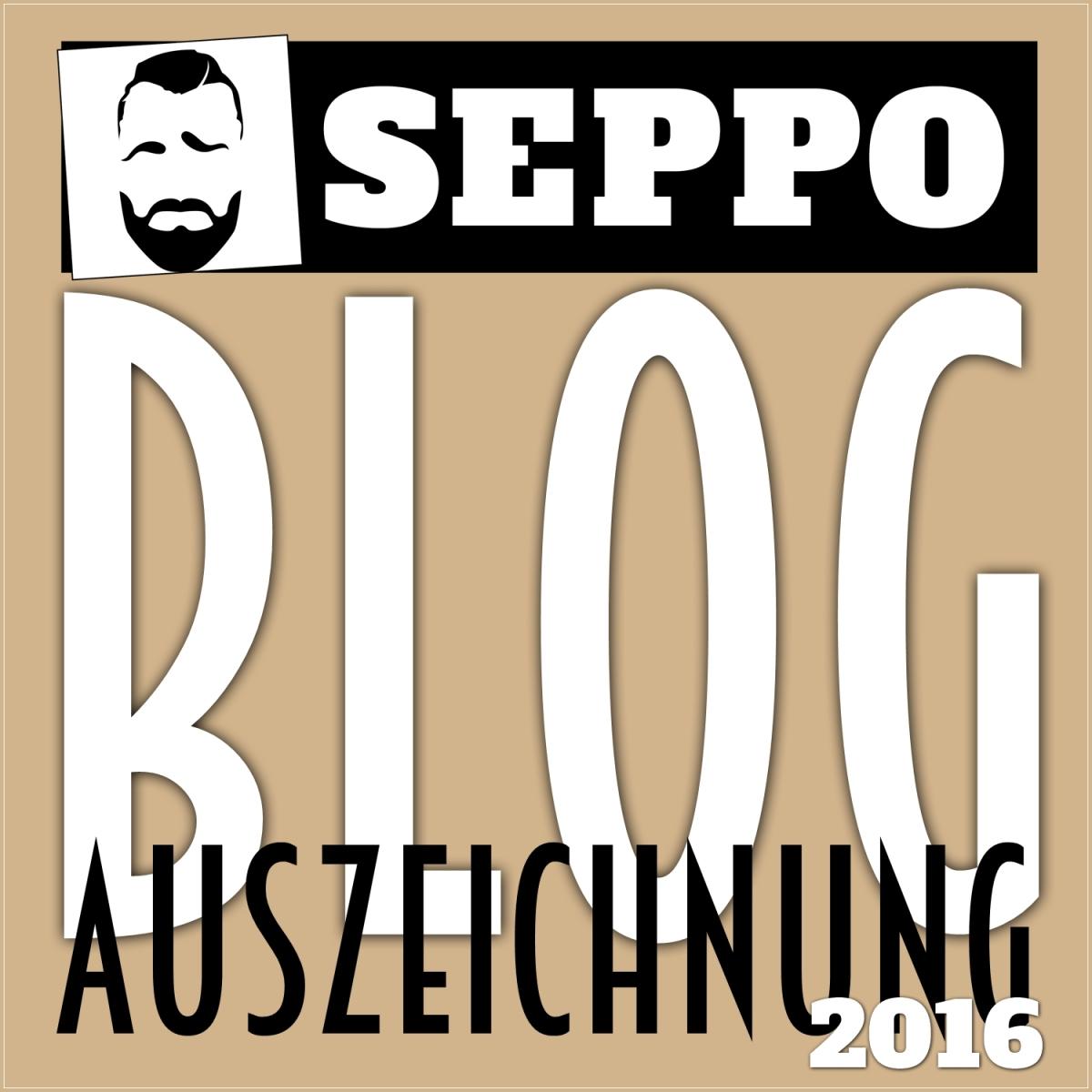 SEPPO BLOG-AUSZEICHNUNG 2016: Die 112 Nominierten