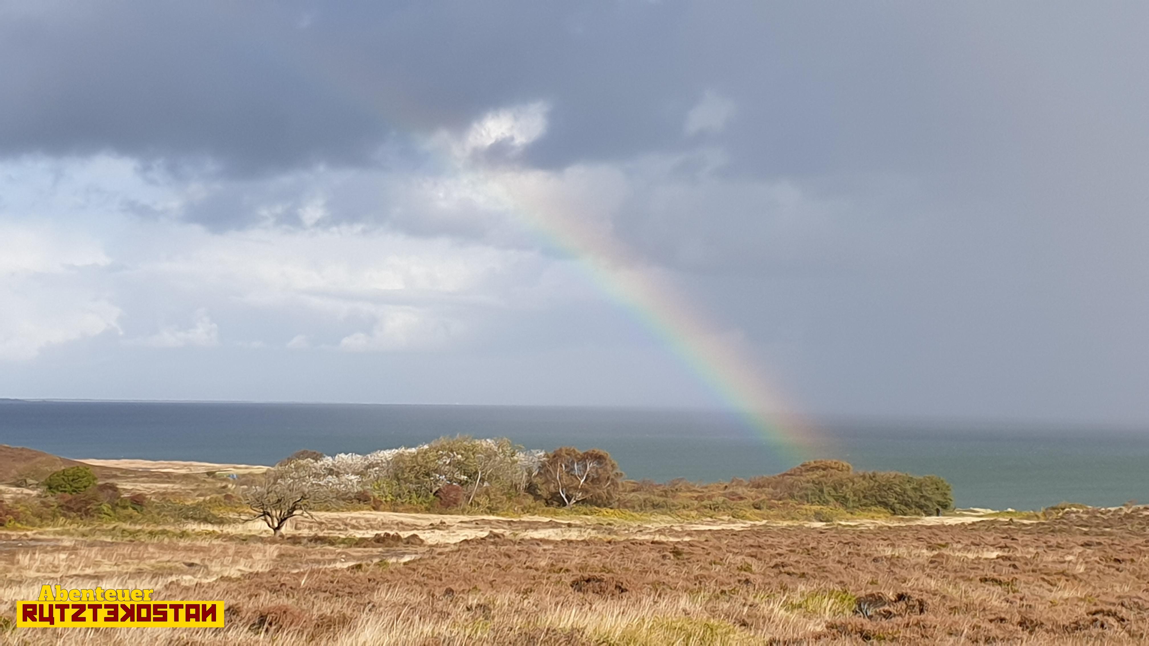 Ein Regenbogen zum Abschied