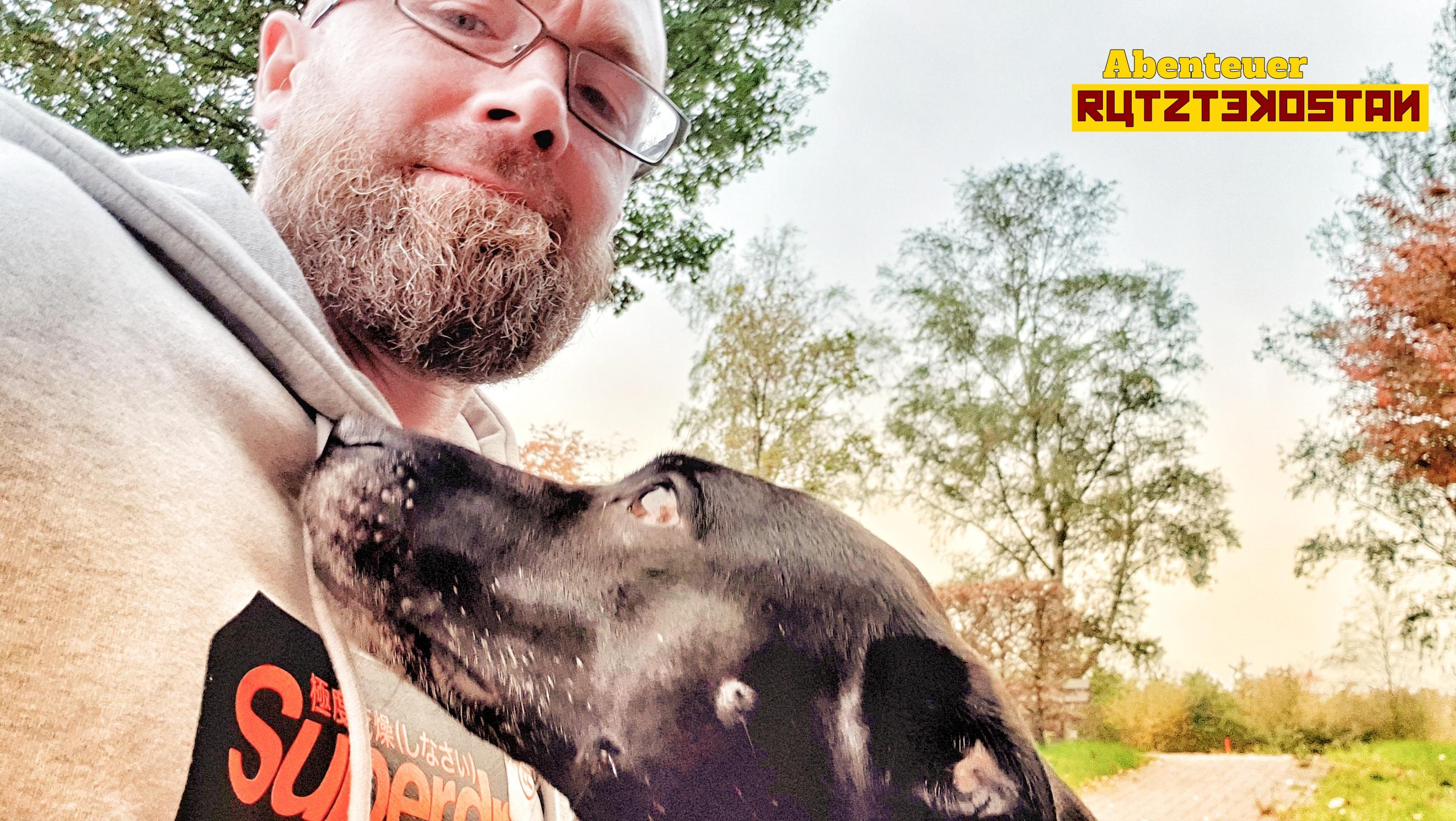 Schussfahrt mit Hund
